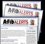 Recent issue of Steve Ryan's A-Fib Alerts