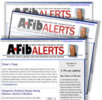 Recent issue of Steve Ryan's A-Fib Alerts