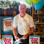 "Steve at ""Bank of Books"" book signing in Malibu"