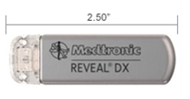 Medtronic Reveal® DX insertable cardiac monitor (ICM) continuously monitors