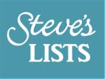 Steves List logo 200 pix at 96 res