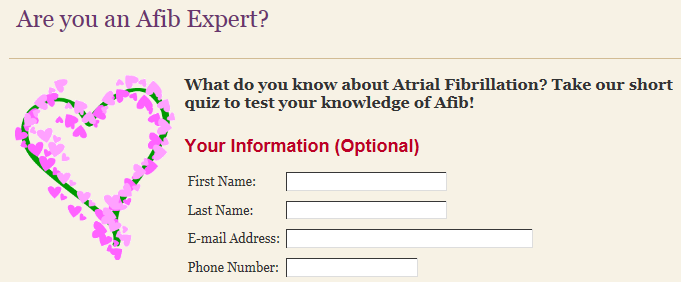 WomenHeart: The National Coalition for Women with Heart Disease - Are you an Afib Expert?