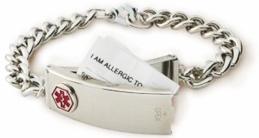 Medic Alert Bracelet by Emerg Alert