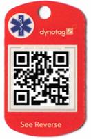 QR code tag by Dynatag