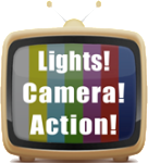 GFX TV set Lights Camera Action