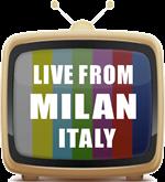 GFX TV set MILAN ITALY150 pix by 96 res