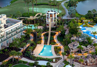 Orlando World Center Marriott - arial view