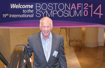 Steve S. Ryan, PhD at 2014 Boston Atrial Fibrillation Symposium