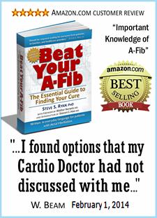 Amazon.com review of Beat Your A-Fib book at A-Fib.com