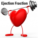 Your Ejection Fraction indicates the heart's pumping strength