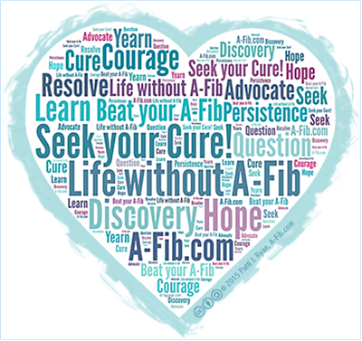 A-Fib heart cloud Seek Your Cure
