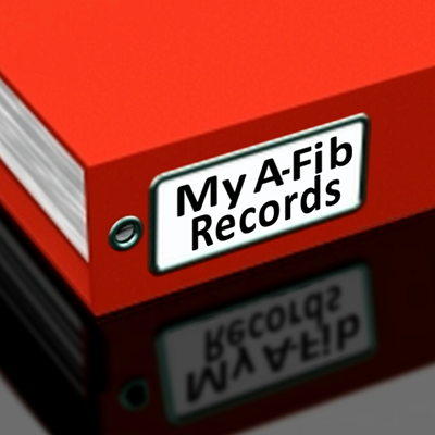 My A-Fib records at A-Fib.com