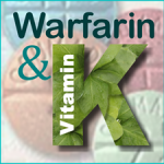 Graphic: Warfarin and vitamin K