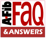 FAQs with A-Fib & Answers 240 x 200 pix at 300 res