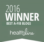 A-Fib.com top rated by Healthline.com for the third year.