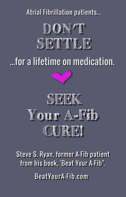 Don't Settle for a lifetime on medication April 2016 600 x 935 pix at 300 res