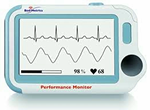 BioMedetrucs Performance Monitor with heart rate monitor at A-Fib.com