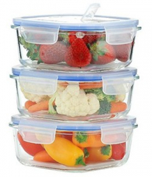 Kinetic GoGreen Glasslock Elements food storage at A-Fib.com