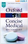 Oxford Concise Medical Dictionary book cover at A-Fib.com