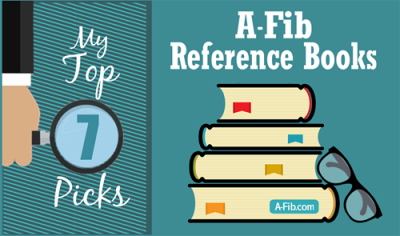 My top 7 A-Fib reference books and guides at A-Fib.com