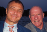 Dr. Stefano Benussi and Steve Ryan in Zurich at A-Fib.com