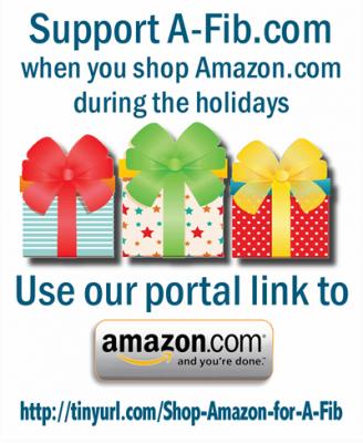 Use our portal link to shop Amazon.com http://tinyurl.com/Shop-Amazon-for-A-Fib