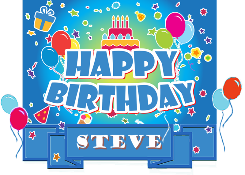 Happy The Birthday Steve Cake