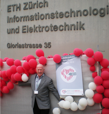 Steve Ryan: Multidisciplinary Arrhythmia Meeting (MAM) ,Zurich, Switzerland in October 2016