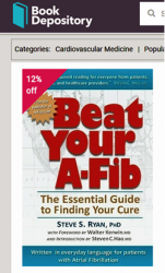 Book Depository with Beat Your A-Fib cover
