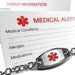 My Identity Doctor Medical Alert Bracelet on Amazon.com